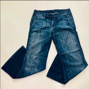 7 For All Mankind Wide Leg Flare